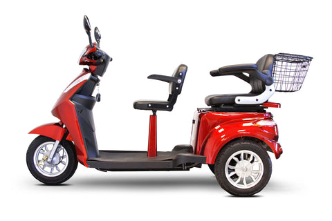 EWheels EW-66 Dual Two-Person Mobility Scooter - from DT Scooters