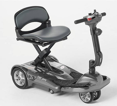 EV Rider Transport AF+ Deluxe Folding Mobility Scooter - from DT Scooters - from DT Scooters