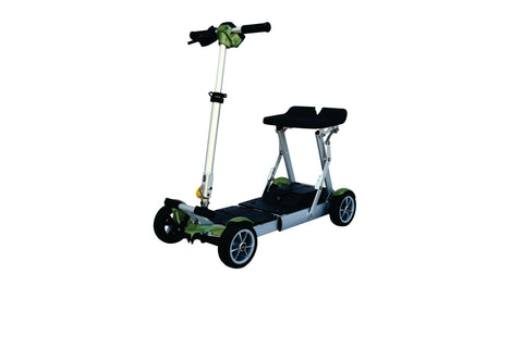 EV Rider Gypsy T4Q Folding Mobility Scooter - from DT Scooters - from DT Scooters