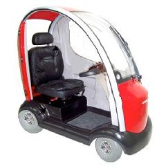 ShopRider Flagship 4-Wheel Cabin Scooter - from DT Scooters - from DT Scooters