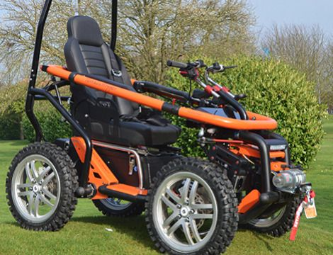 TerrainHopper Overlander 4ZS Off-Road Mobility Vehicle - from DT Scooters - from DT Scooters