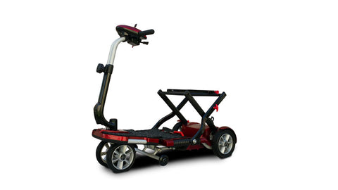 EV Rider Transport Plus Folding Mobility Scooter With Armrests - from DT Scooters