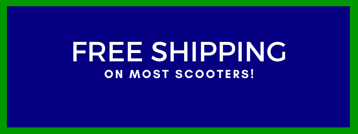 Free Shipping On All Scooters!