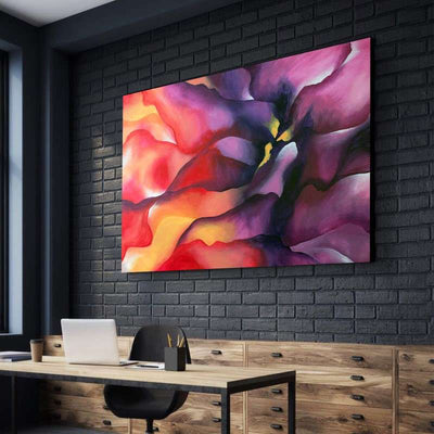 Nebula Flower Canvas Set