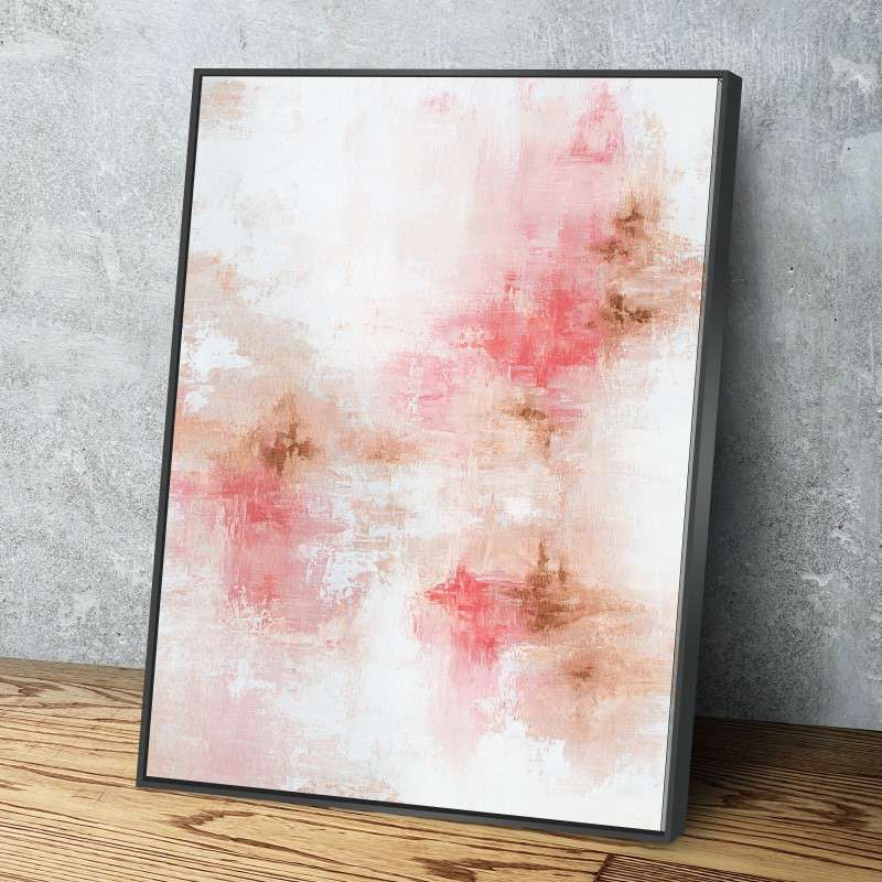 Rose Gold Canvas Set