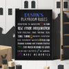 Playroom Rules Custom Canvas Set