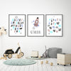 ABCs and 123s Custom Canvas Set