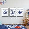 Ocean Boy Custom Canvas Set