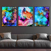 Splashes of Joy Canvas Set
