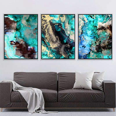 Emerald Beauty Canvas Set