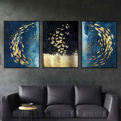The Butterfly Effect Canvas Set