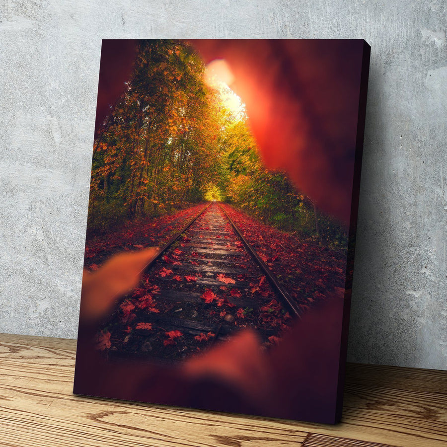 Autumn Express Canvas Set