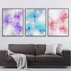 Abstract Pastels Canvas Set