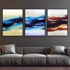 Abstract Sunset Canvas Set