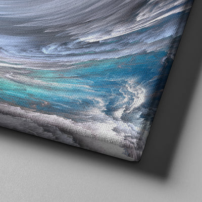 Abstract Wave Canvas Set