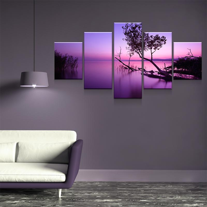 Balaton Sunset Canvas Set