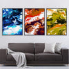 Bright Splash Canvas Set