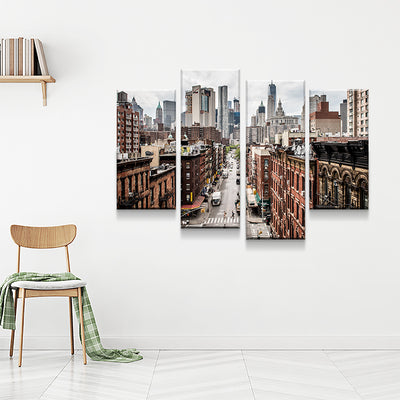 Concrete Jungle Canvas Set