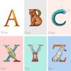 Build-A-Name Animal Alphabet Custom Canvas Set