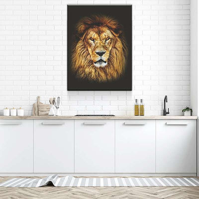 Mighty Lion Canvas Set