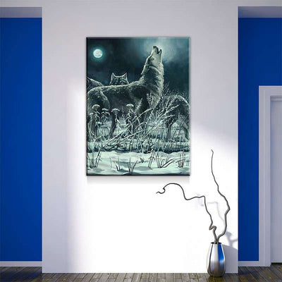 Moonlit Howl Canvas Set