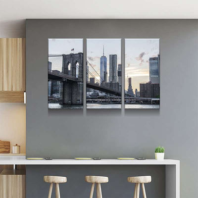 New York Skyscrapers Canvas Set