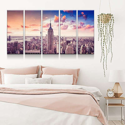 New York Canvas Set
