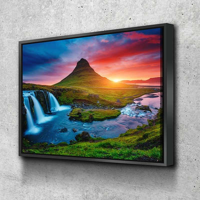 River Sunset Canvas Set