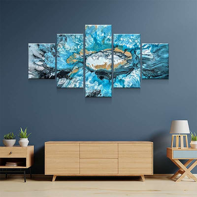 Sand and Sea Canvas Set