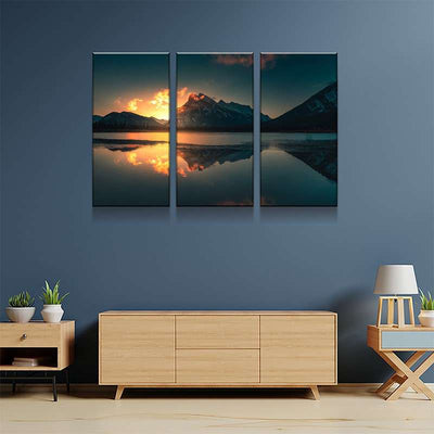 Sub Zero Sunrise Canvas Set