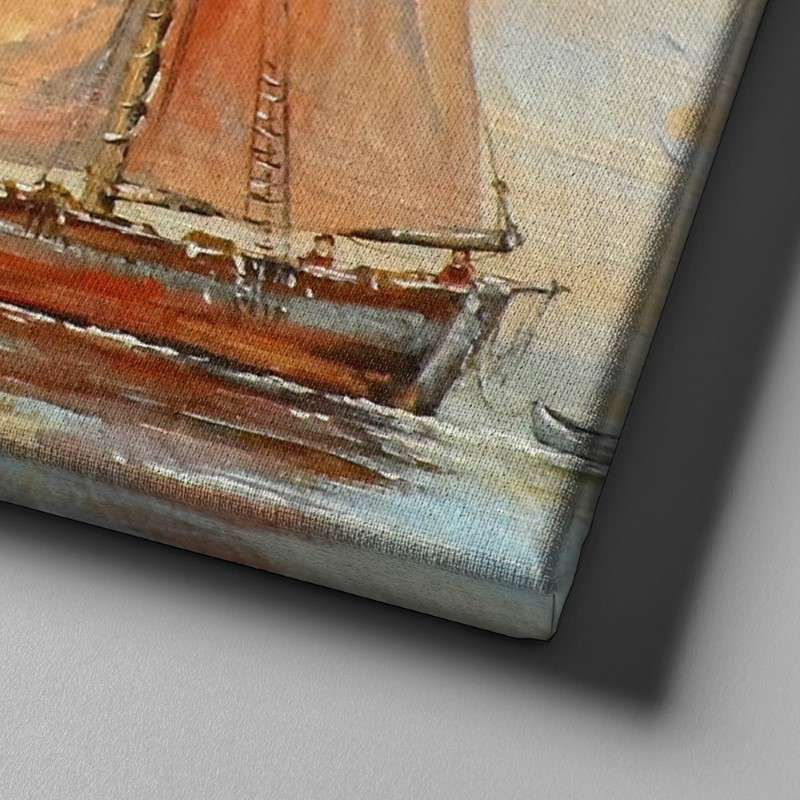 Sunrise Sailing Canvas Set