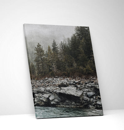 Smokey River Canvas Set