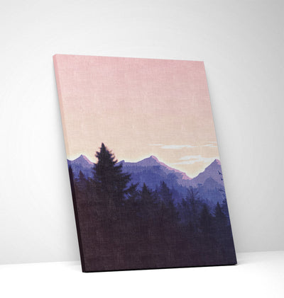 Lavender Forest Canvas Set