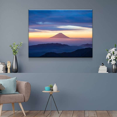 Volcano Fuji Canvas Set