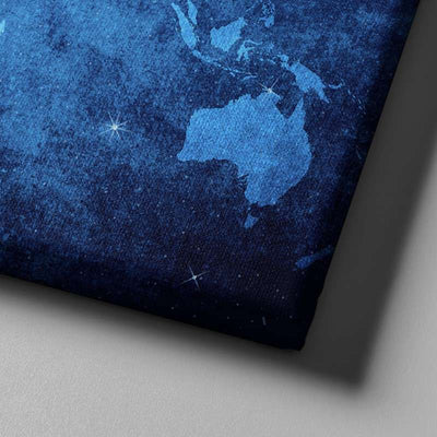 World Map No37 Canvas Set