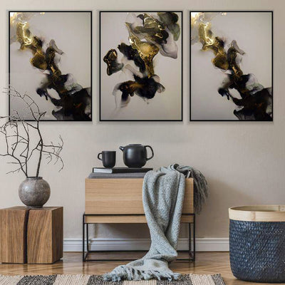 Abstract Treasure Canvas Set