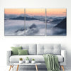Mountain Fog Canvas Set