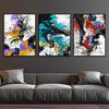 Colorful Smoke Canvas Set