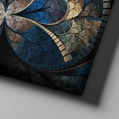 Contemporary Fractal Canvas Set