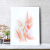 Rose Gold Ribbons Canvas Set