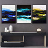Dark Colorful Canvas Set