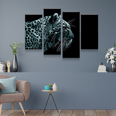 Electric Leopard Canvas Set