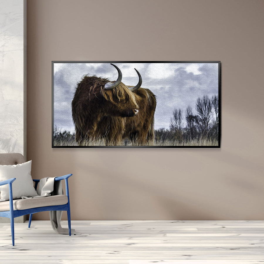 Amazing Bull Canvas Set