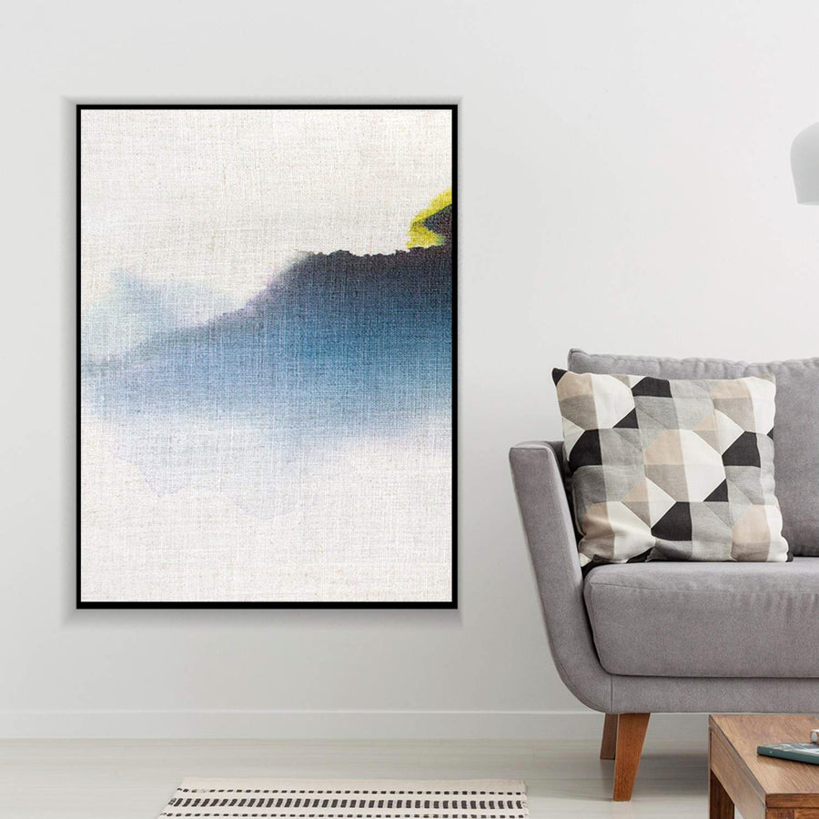 Flowing Blue Canvas Set