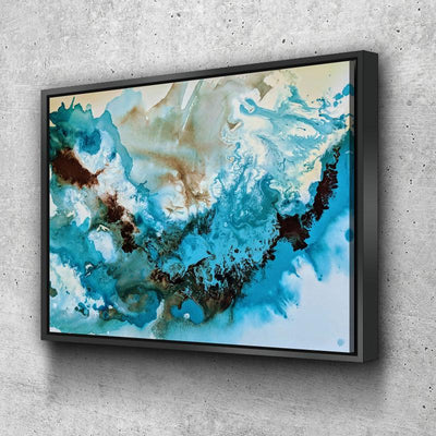 Abstract Call of the Ocean Canvas Set