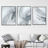Marble Grey Canvas Set
