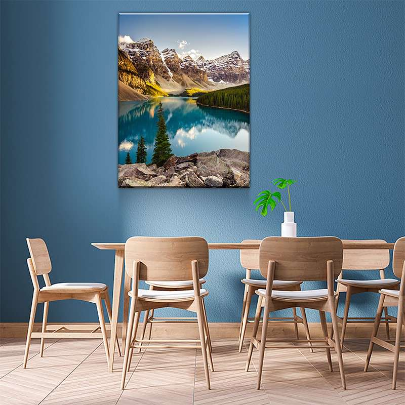 Moraine Lake Canvas Set