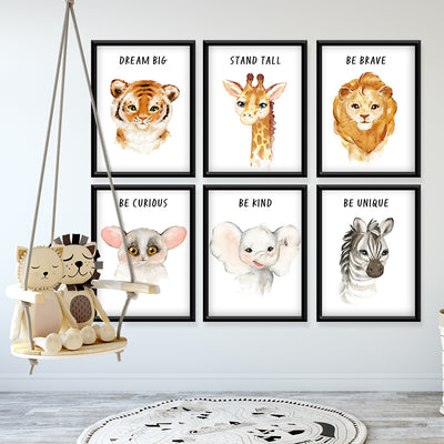 Inspired Safari Custom Canvas Set