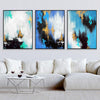 Parallel Gold Canvas Set