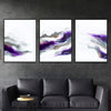 Purple Smoke Canvas Set